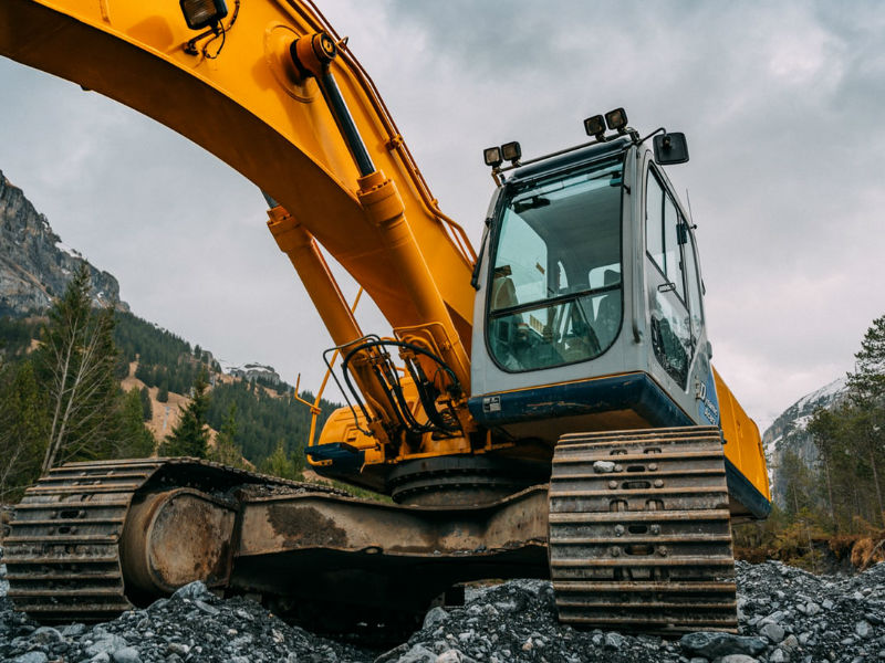 16 Types Of Hydraulic Machines Used In Construction Excavators