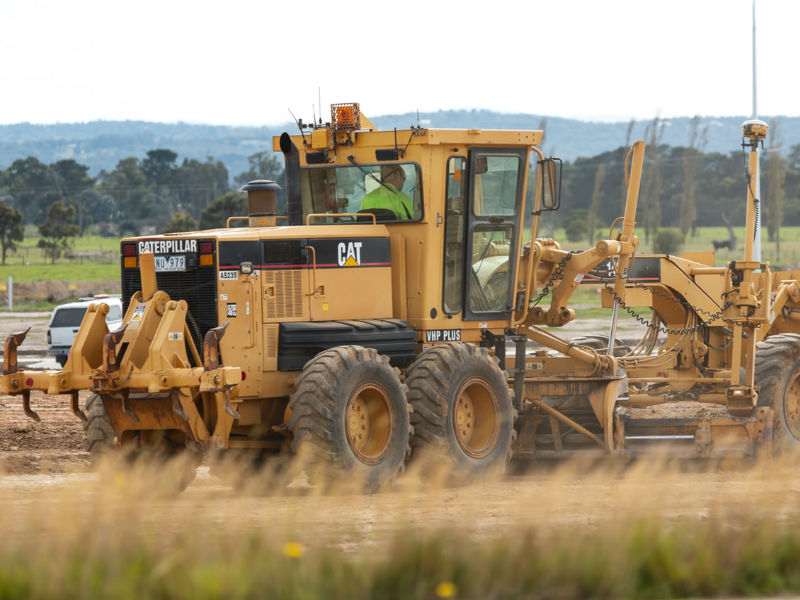 16 Types Of Hydraulic Machines Used In Construction Grader