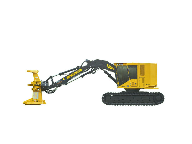 16 Types Of Hydraulic Machines Used In Construction Feller Bunchers