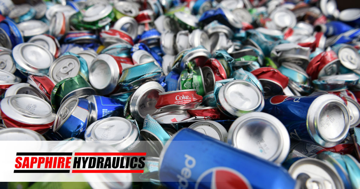 A Look At How Houstons Recycling Is Sorted Cans