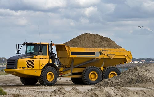 Sapphire Hydraulics Mobile Repair Hydraulics Articulated Dump Truck