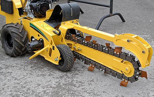 Sapphire Hydraulics Mobile Repair Hydraulics Trencher
